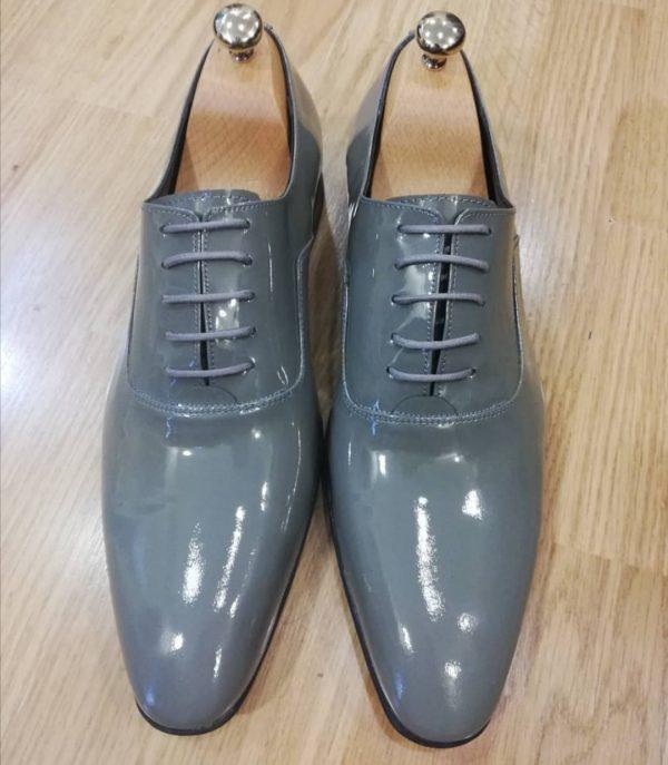 muske sive cipele